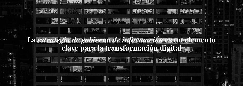 Nuestro trabajo es esencial en la estrategia  hacia la transformación digital